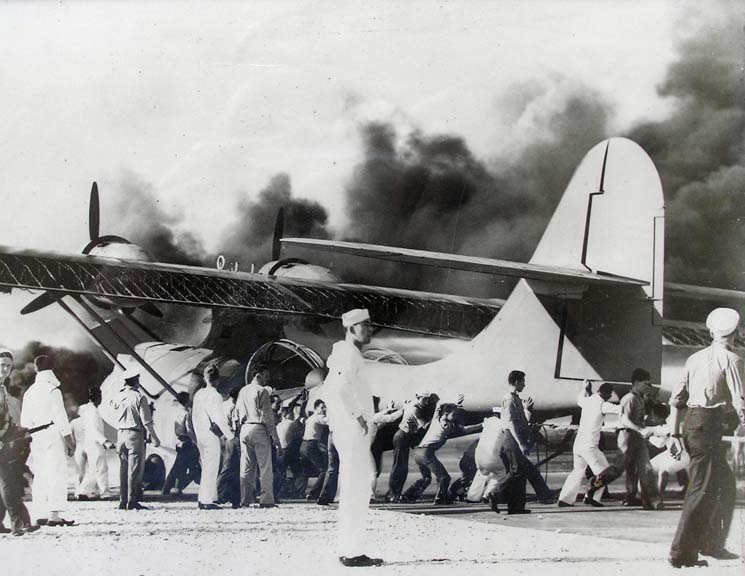 the events of the fateful sunday morning during the attack at pearl harbor by japanese planes Despair and visions: birth of the rescue helicopter  japanese torpedo planes had poured  inspired in despair by the attack on pearl harbor.