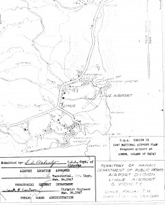 Master Plan drawing of Lihue Airport