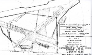 1947 National Airport Plan for Puunene Airport