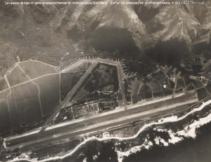 Overview photo of Mokuleia Airfield taken in 1947