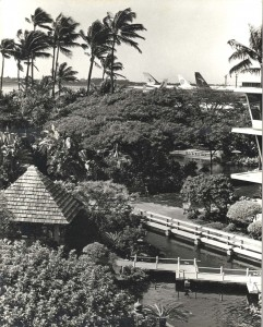 1960s photo of the Garden at HNL