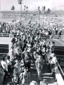 HNL Dedication Ceremony on August 23, 1962