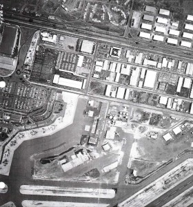 Aerial view of HNL from May 6, 1968