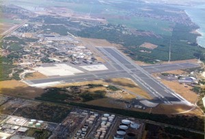 Aerial view photo of Kalaeloa Airport