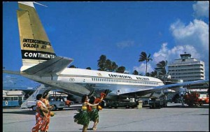 Photo of a Continental Airlines aircraft