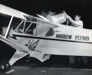 Photo of an Andrew Flying Service aircraft