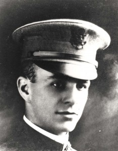 Historic photo of 2nd Lt Franklin B Bellows taken in 1933