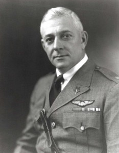 Lt. Col. Horace Hickam for whom Hickam Field, later Hickam Air Force Base, was named, c1932-1934.