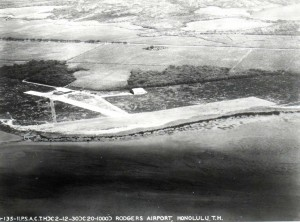 John Rodgers Airport, Honolulu, February 12, 1930.
