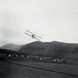 J. C. Bud Mars makes the first flight in Hawaii December 31, 1910 in Honolulu (Moanalua)