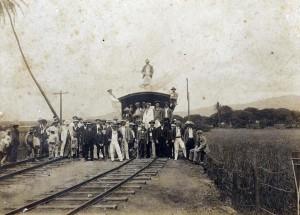 Early Railroad in Hawaii.