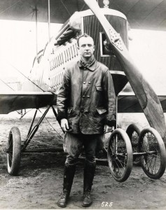 Early Hawaii aviator Army Capt. John Curry, 1917. Capt. Curry surveyed Oahu to select suitable facilities for the 6th Aero Squadron and decided on Ford Island since it had excellent approaches and plenty of water for landings and takeoffs.