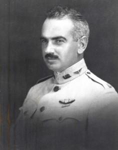 Major Sheldon Wheeler for whom Wheeler Field (later Wheeler Air Force Base) was named. 1918.