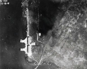 6th Aero Squadron facility at Joint Services Flying Field (later Luke Field) on Ford Island, December 16, 1918.