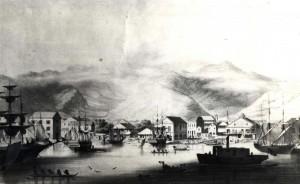 Honolulu Harbor 1857