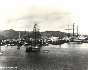Honolulu Harbor 1881
