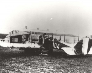 DH-4M Aircraft at Luke Field assigned to 4th or 6th Aero Squadron, c1925-1926.