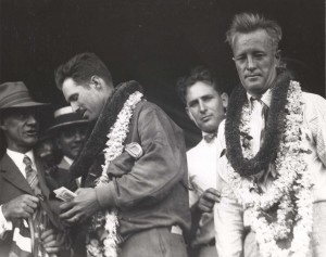 Emory Bronte and Ernest Smith were beseiged by newsmen after arriving in Honolulu. They were happy to have beat Maitland and Hegenberger's time and to be the first civilians to successfully cross the Pacific. Smith and Bronte were treated like heroes after their flight.