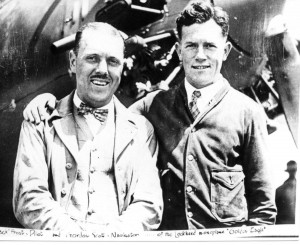 John W. Frost and Gordon Scott took off in the Golden Eagle. The plane did not reach Oahu and was never found.