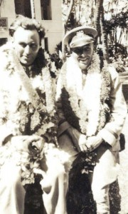 Dole Derby pilots Art Goebel, finished first, and Martin Jensen was second in the Oakland-Hawaii flight, August 17, 1927.