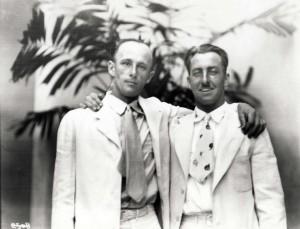 Dole Derby pilot Martin Jensen and navigator Paul Schluter finished second, August 17, 1927.