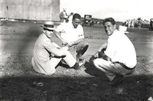 Dole Derby organizer James B. Dole at Wheeler Field, August 17, 1927.