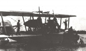 The Navy hunted for the PN-9 No. 1 for eight days before giving them up for lost. After sailing the plane for nine days the crew sighted Kauai and crafted a rudder to aid their sailing to the island.