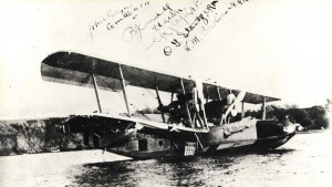 On the 10th day, a submarine sighted the plane near the entrance to Ahukini Harbor. The sub towed the plane around Kauai into Nawiliwili Harbor. The crew carefully secured the PN-9 before going ashore on September 10, 1925.