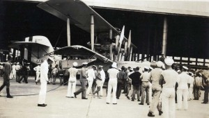 The PN-9 was loaded onto the Navy ship USS Pelican in Nawiliwili Harbor and carried to Pearl Harbor where it was repaired and flew again days later.