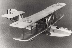 The PN-9 seaplane made the first Trans-Pacific flight from San Francisco to Honolulu.