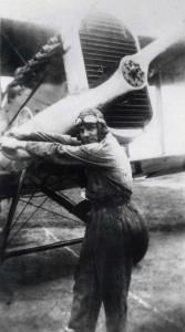 Pilot at Luke Field, c1927.