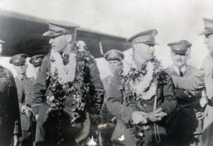 Lt. Lester Maitland and Albert Hegenberger's Fokker C2-3 was equipped with a Wright 220 engine. The flight was an unprecedented success and proved that travel between the Mainland and Hawaii was possible. The aviators received the Mackay Trophy for 1927 for their feat and the Army's Distinguished Flying Cross.