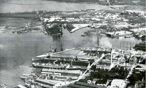 Honolulu Harbor, June 11, 1924.