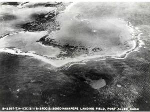 Hanapepe Field, Kauai, February 19, 1929.