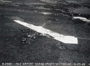 Hilo Airport, Hawaii, June 25, 1929.