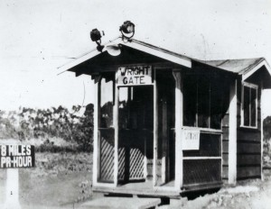 Wright Gate, Wheeler Field, 1920s.