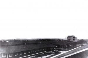 Observation Balloon Hangar at Fort Kamehameha, c1920-1924.