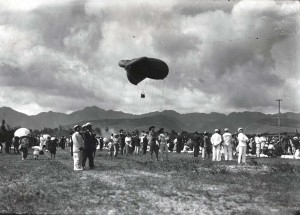 Army Balloons in Hawaii c1920s