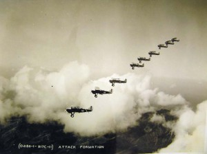 1930s Formation over Oahu 01