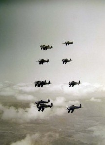 1930s Formation over Oahu 02