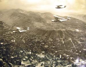 1930s flight over Oahu