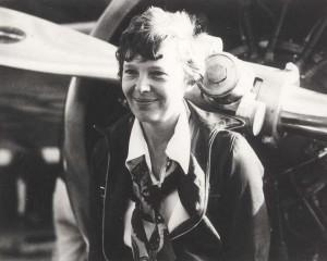 Amelia Earhart, 1935.