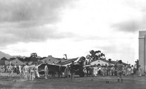The Lady Southern Cross at Wheeler Field, November 3, 1934.