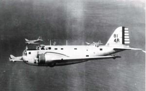 B-18 stationed at Hickam Field, c1938-1940.