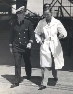 Inter-Island Airways, August 30, 1935. Captain Charles I. Elliott and Maintenance Superintendent William Carman.