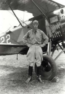Unidentified aviator, Luke Field, 1931.