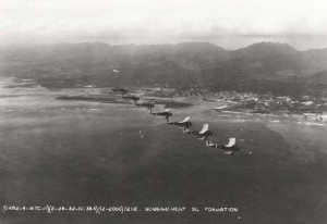 Formation over Luke Field, February 26, 1932.