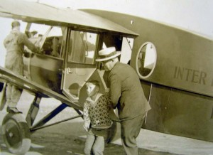 Territorial Governor Judd on his way to Molokai.