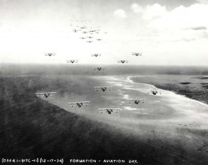 Aviation Day Formation, Oahu, December 17, 1933.