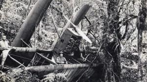 Harold's crash on the Big Island.